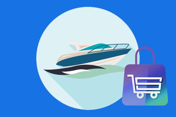 Web shop banner